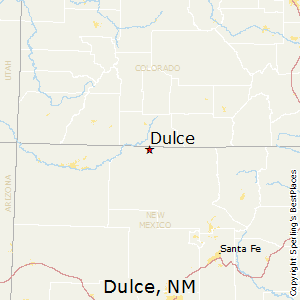 Dulce,New Mexico Map