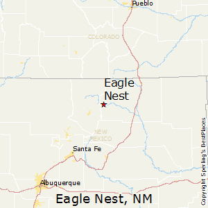 Eagle_Nest,New Mexico Map