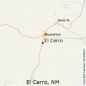 El_Cerro,New Mexico Map