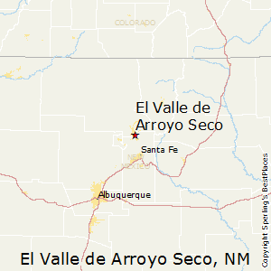 El_Valle_de_Arroyo_Seco,New Mexico Map