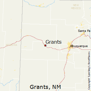 Grants,New Mexico Map