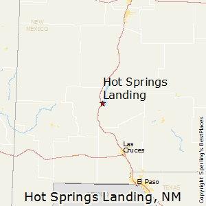Hot_Springs_Landing,New Mexico Map