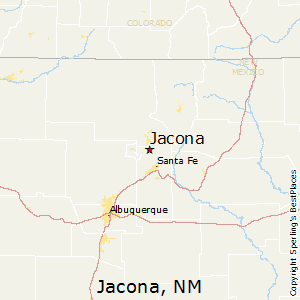 Jacona,New Mexico Map