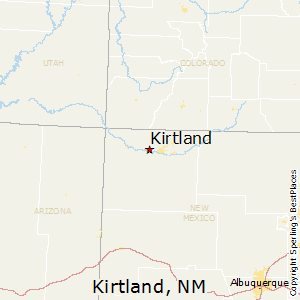 Kirtland,New Mexico Map
