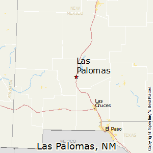 Las_Palomas,New Mexico Map