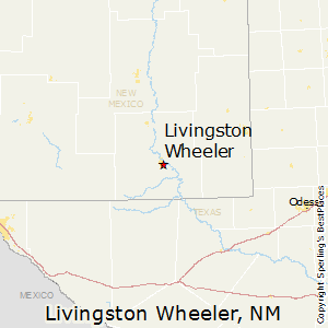 Livingston_Wheeler,New Mexico Map