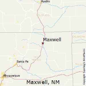 Maxwell,New Mexico Map