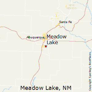 Meadow_Lake,New Mexico Map