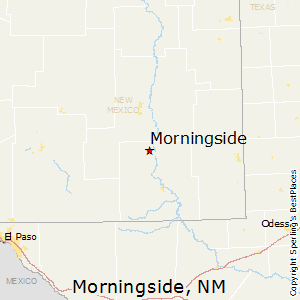 Morningside,New Mexico Map