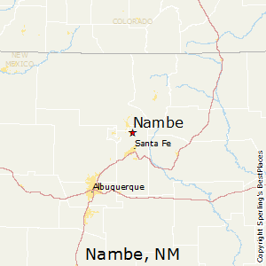 Nambe,New Mexico Map