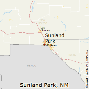 Sunland_Park,New Mexico Map