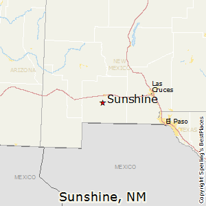 Sunshine,New Mexico Map