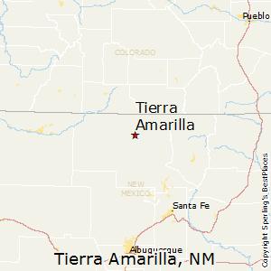 Comparison: Hot Springs, South Dakota - Tierra Amarilla, New Mexico