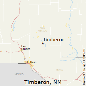 Timberon,New Mexico Map