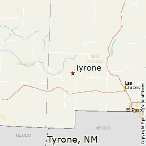 Tyrone,New Mexico Map