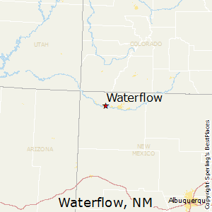 Waterflow,New Mexico Map
