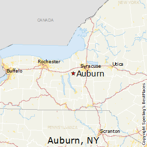 Comparison: Seneca Falls, New York   Auburn, New York