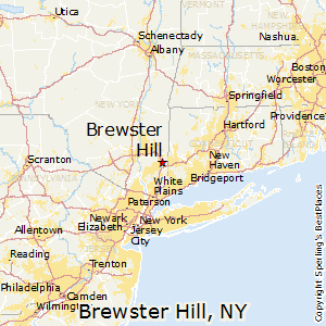 Brewster_Hill,New York Map