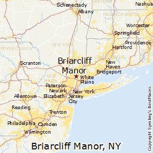 Briarcliff_Manor,New York Map
