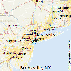 Bronxville,New York Map
