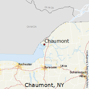 Chaumont,New York Map
