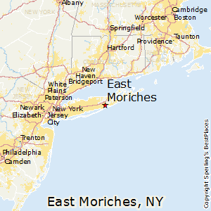 East_Moriches,New York Map