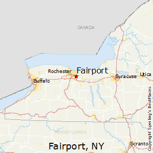 Fairport,New York Map