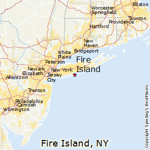 Map Of New York Islands.Fire Island New York Cost Of Living