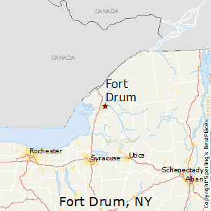 Fort_Drum,New York Map