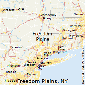 Freedom_Plains,New York Map