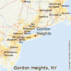 Gordon_Heights,New York Map