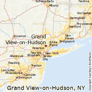 Hudson Ny Map >> Best Places To Live In Grand View On Hudson New York
