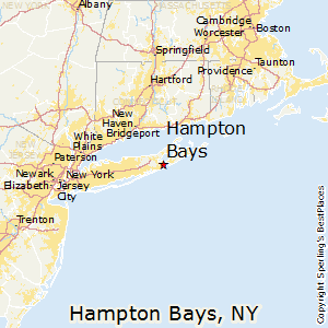 Hamptons New York Map.Best Places To Live In Hampton Bays New York