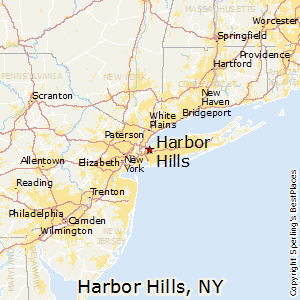 Harbor_Hills,New York Map