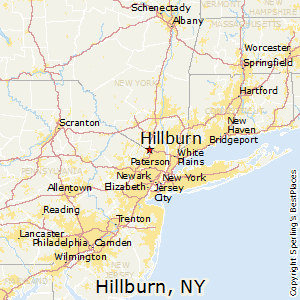 Hillburn,New York Map