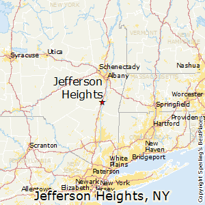 Jefferson_Heights,New York Map