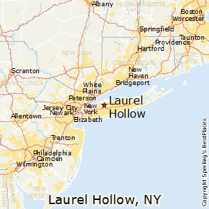Laurel_Hollow,New York Map