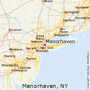 Manorhaven,New York Map