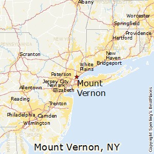 Mount_Vernon,New York Map