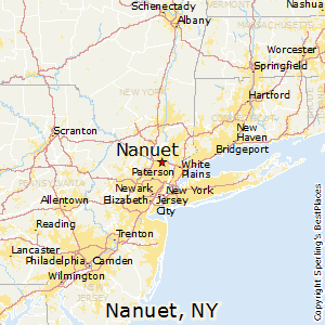 best places to live in nanuet new york