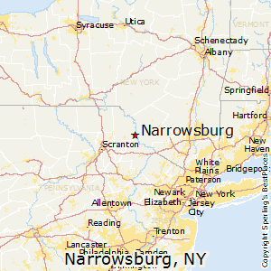 Narrowsburg,New York Map