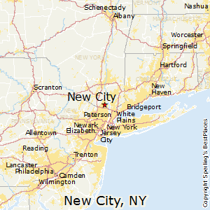 Map Of Cities In New York.Best Places To Live In New City New York