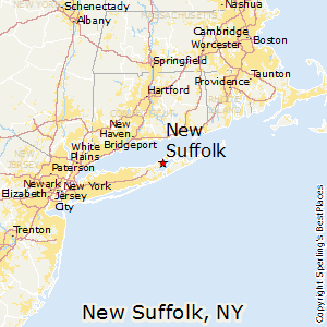 Suffolk County New York Map.Best Places To Live In New Suffolk New York