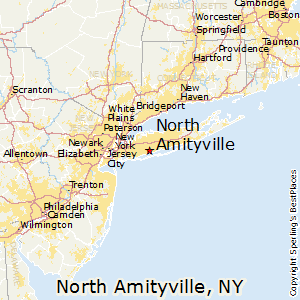 Amityville New York Map.Best Places To Live In North Amityville New York