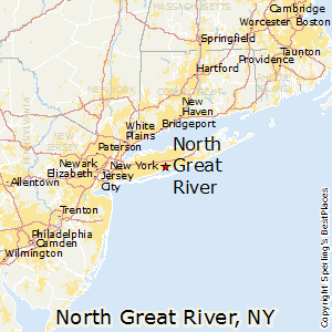 North_Great_River,New York Map
