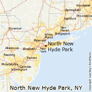 North_New_Hyde_Park,New York Map