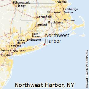 Map Of New York Harbour.Northwest Harbor New York Religion