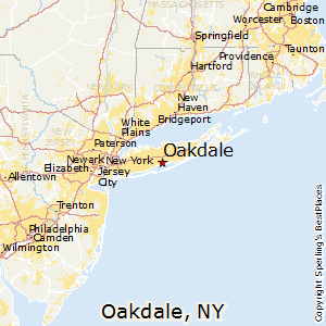 New York Map Long Island.Best Places To Live In Oakdale New York