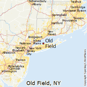 Old_Field,New York Map