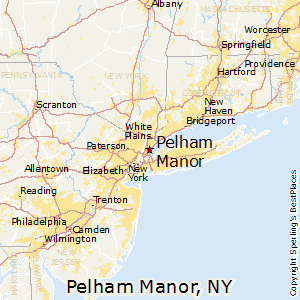 Pelham_Manor,New York Map